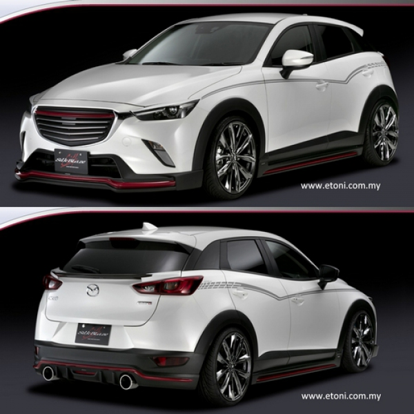 Mazda Cx 3 Body Kit By Silkblaze Body Kit Automotive
