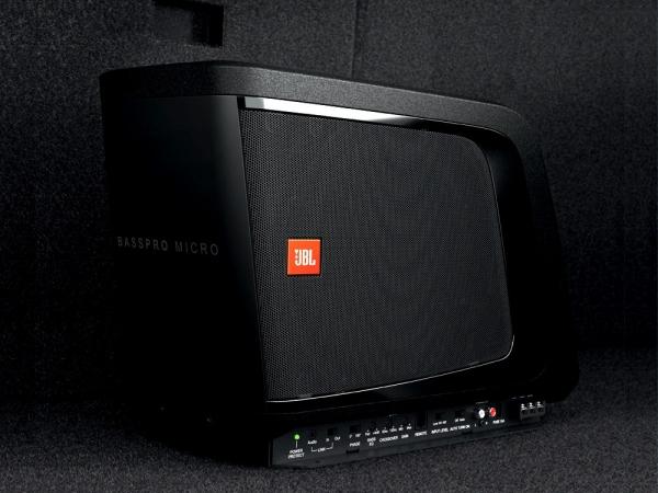 jbl basspro micro woofer automotive accessories. Black Bedroom Furniture Sets. Home Design Ideas